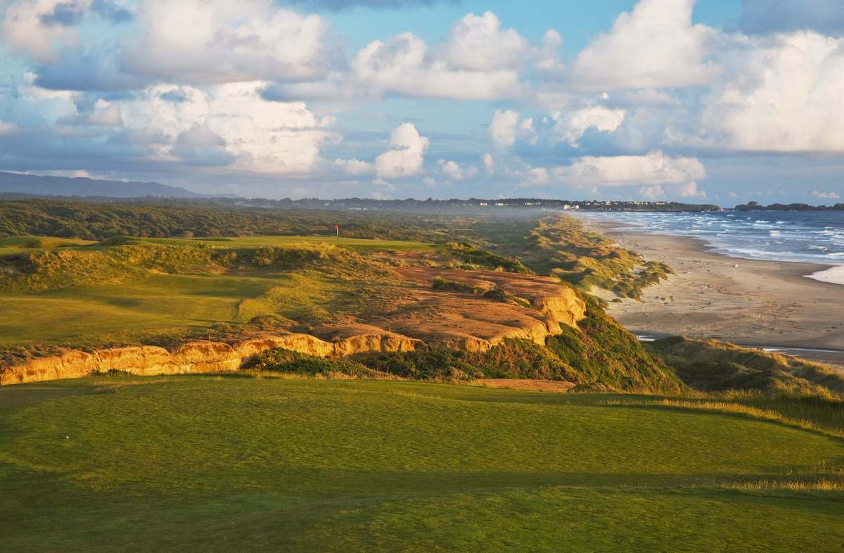 "<a href=""http://www.bandondunesgolf.com/"" target=""_hplink"">Bandon Dunes</a>, Coos County, Oregon This rugged and remote, wind"