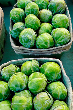 <strong>Winner: </strong>Brussels sprouts  One cup of each of these veggies contains your full recommended dietary allowance