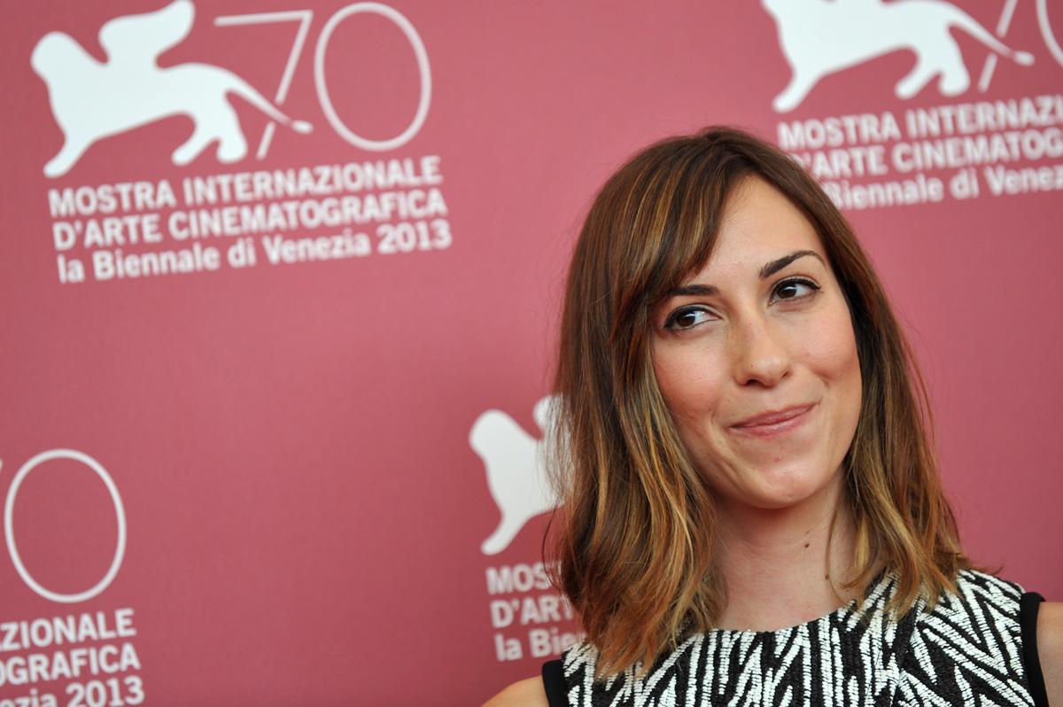 US director Gia Coppola poses during the photocall of 'Palo Alto' presented in the Orizzonti selection at the 70th Venice Fil