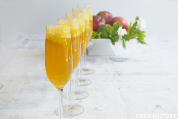 """<strong>Get the <a href=""""http://www.cookthestory.com/2013/05/10/drink-recipe-for-brunch-mango-lime-bellinis/"""" target=""""_blank"""""""