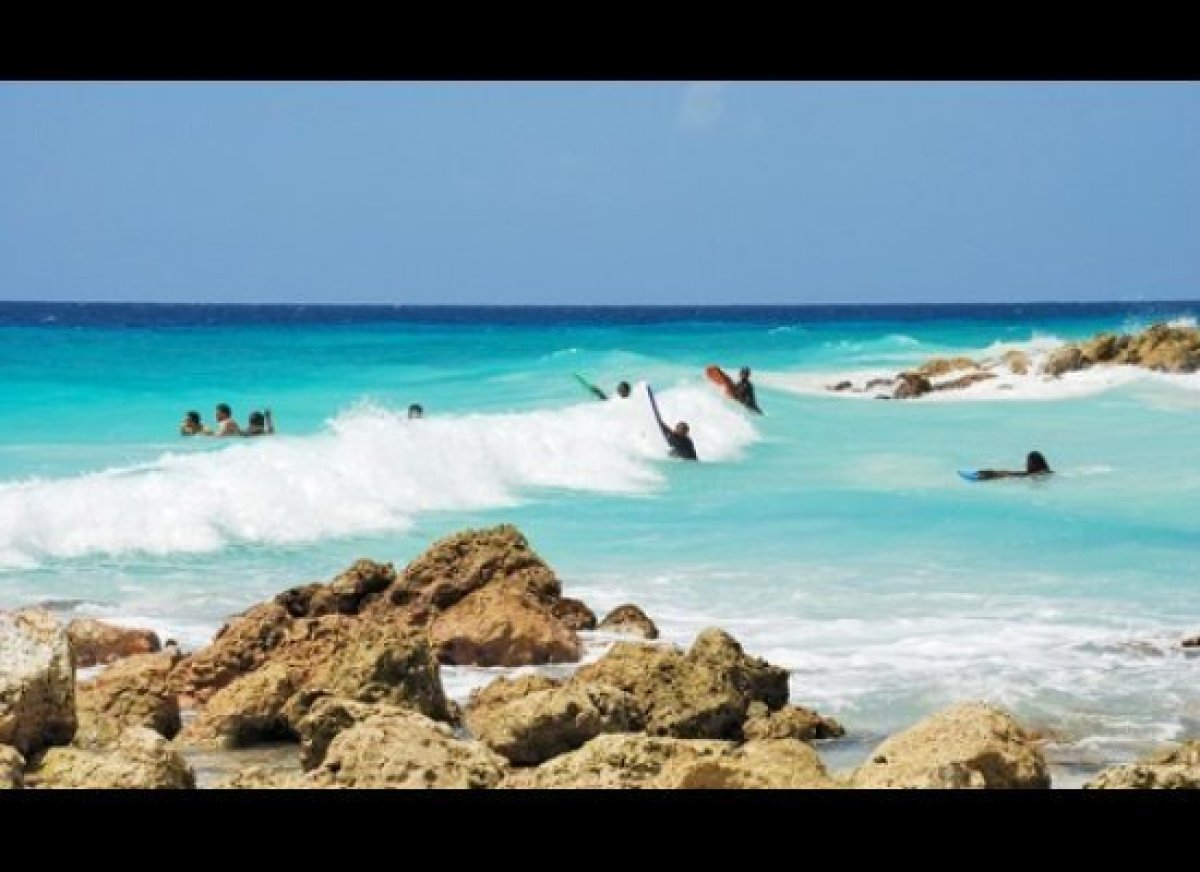 The mighty Soup Bowl surf break slams the east coast of Barbados and draws pros from all over the world (Kelly Slater include