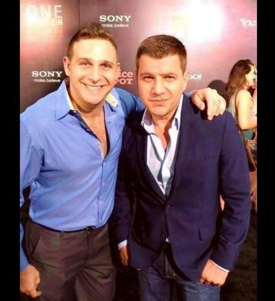 Celebrity Chef Chris Nirschel And TV Personality Tom Murro Attend The One Direction This Is Us NYC Premiere