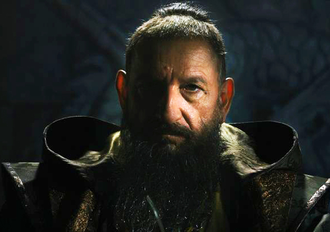 "Ben Kingsley's Mandarin, all idle threats and subterfuge, helped make ""Iron Man 3"" the best superhero movie since ""The Dark K"