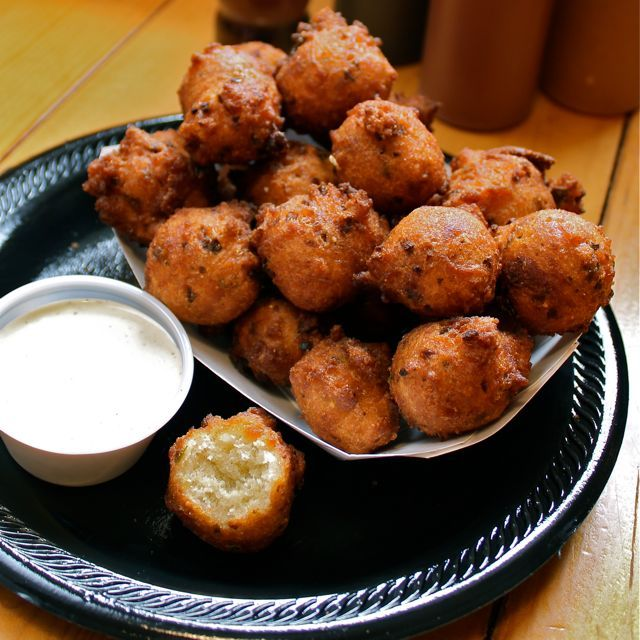 """<strong>Get the <a href=""""http://www.aspicyperspective.com/2011/03/okie-dokie-smokehouses-jalapeno-hushpuppies-red-slaw.html"""""""