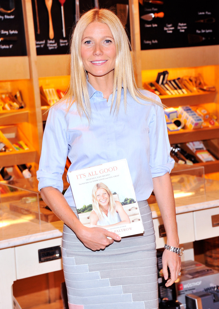 """These days, Gwyneth Paltrow's acting has taken a backseat to her growing <a href=""""http://www.huffingtonpost.com/2009/02/26/gw"""