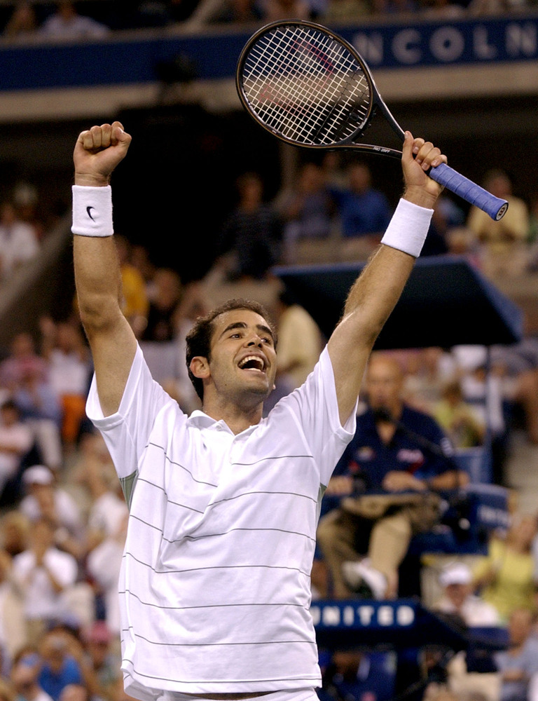 Age In 31 Years Old: Won 2002 US Open  Sampras retired the next year at 32 years old