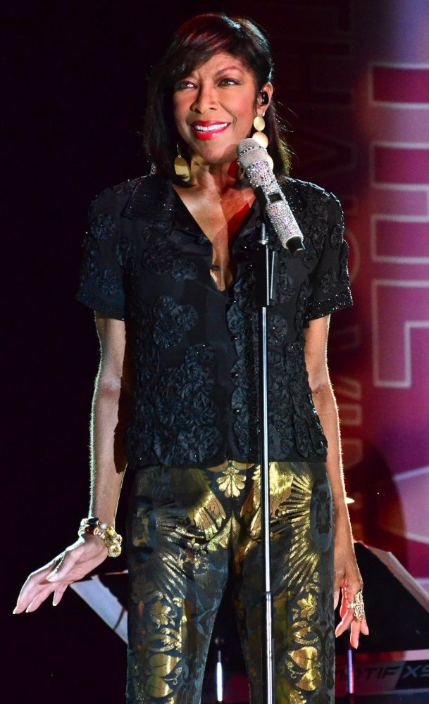 Natalie Cole performance at the On The Vine music festival.   Photo by Doug Segars