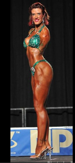 Bodybuilder Barbie Thomas may not be able to bench press, but few can match her for inner strength.
