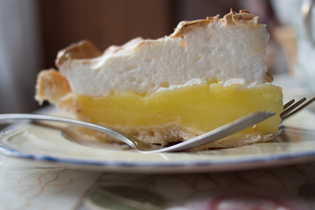 It's not that lemon meringue pie is hard to make, it's that it takes a few labor-intensive steps -- pie crust, lemon filling
