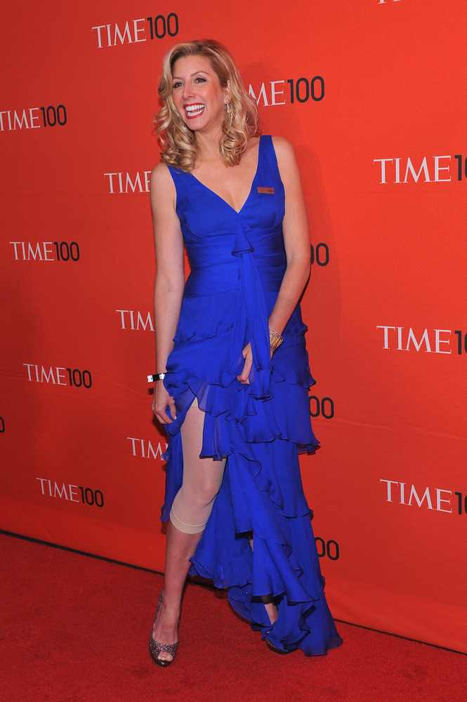 """Sara Blakely had never worked in fashion or taken <a href=""""http://globalpublicsquare.blogs.cnn.com/2013/08/24/sara-blakely-sp"""