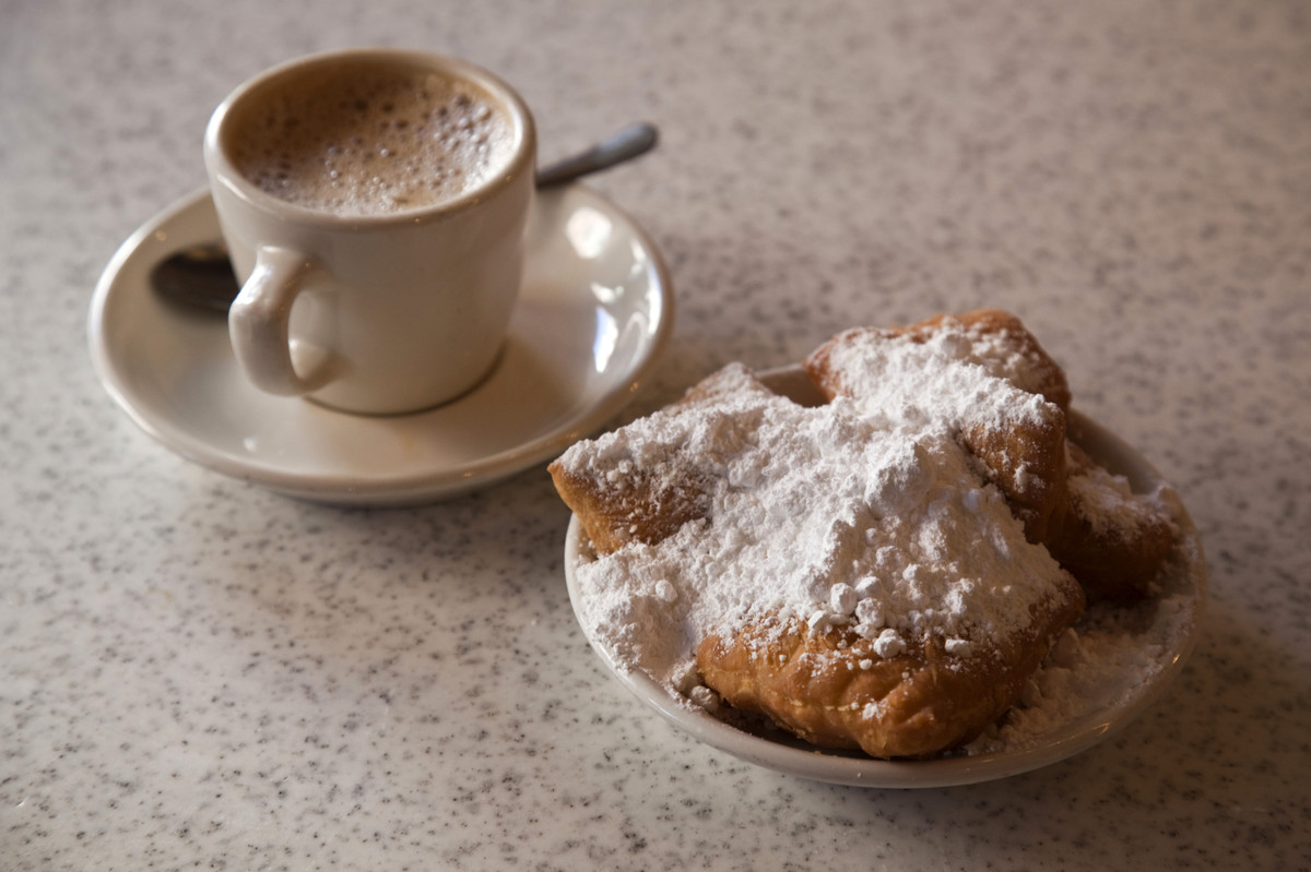 """This fried dough reigns from France, but is also widely popular in New Orleans. The yeast dough and a <a href=""""http://shop.ca"""