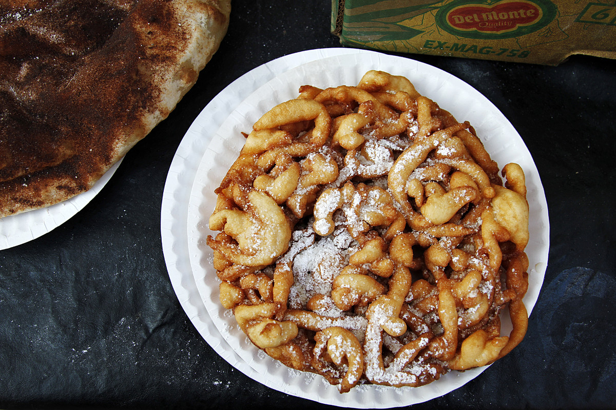 This ubiquitous fair food is an American classic, but its origins are largely attributed to the Pennsylvania Dutch.