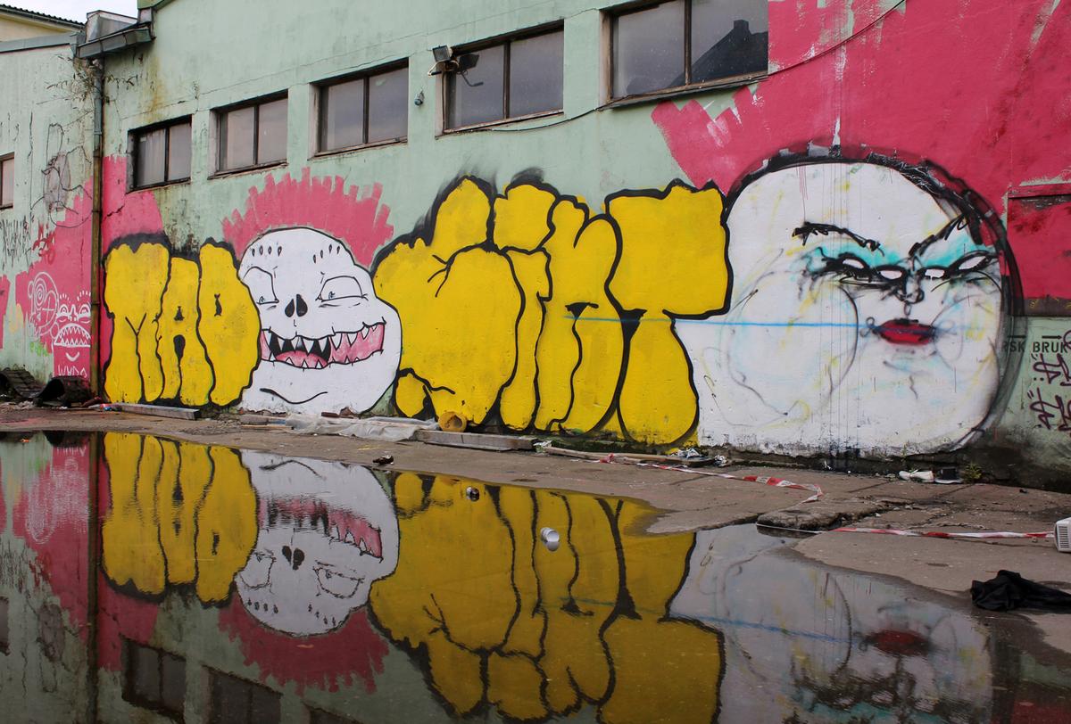 "Street Art festival <a href=""http://www.nuartfestival.no/artists/artists-2013/hush--uk-"" target=""_blank"">Nuart</a> opened thi"