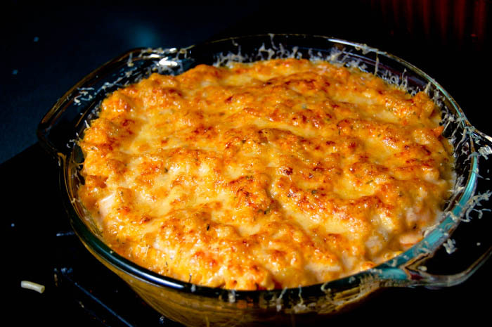 Watch Crunchy Crust Mac and Cheese video