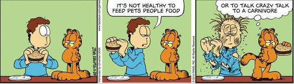 food in comic strips