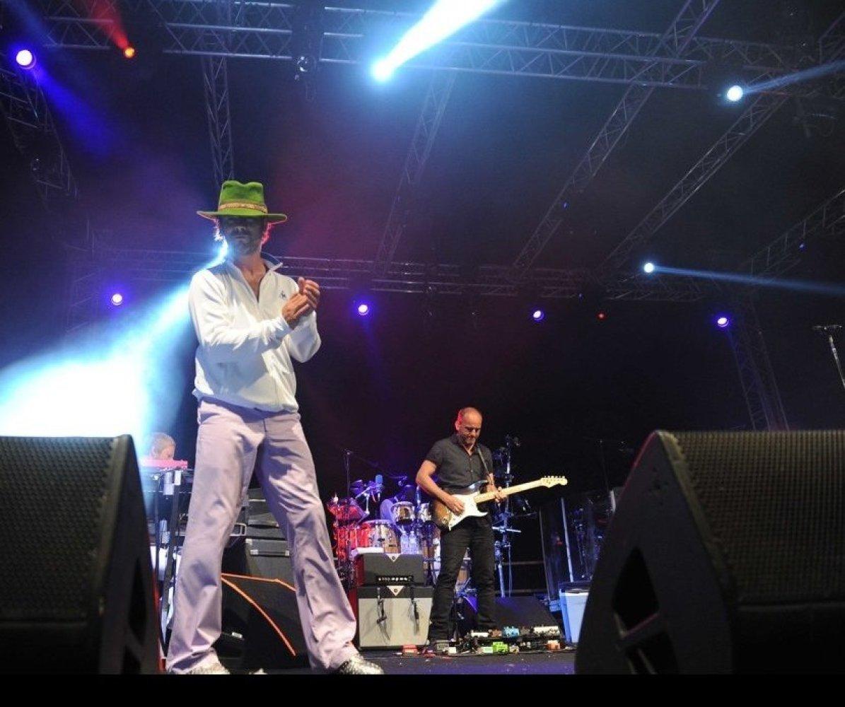 Jamiroquai at Summer Gala Concerts 2013 in Porto Cervo