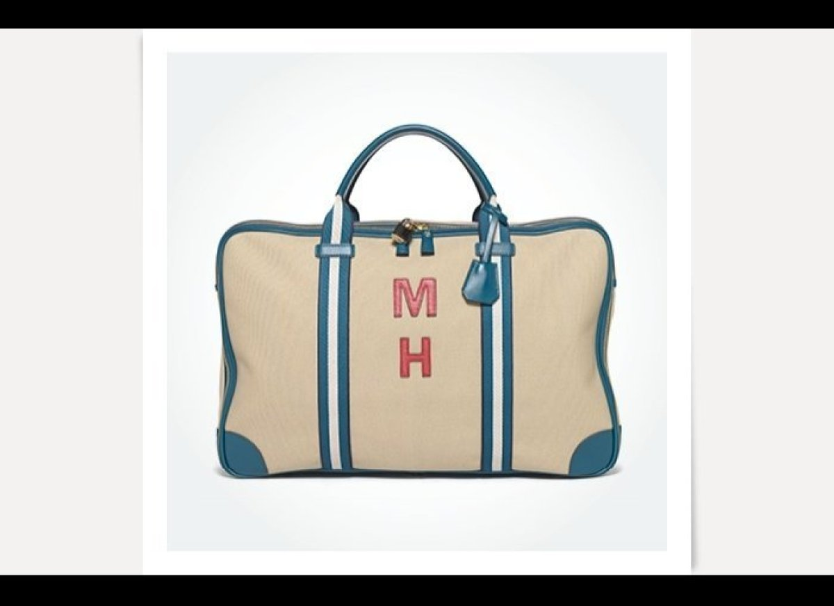 Bespoke Anya Hindmarch Walton bag, $1,375, anyahindmarch.com    <em>Photo by Lucas Visser </em>
