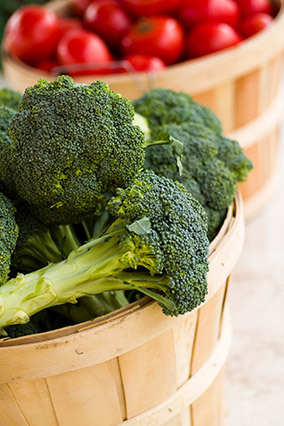 Fresh broccoli can be deliciously sweet and crisp. Unfortunately, most of us don't have access to the just-picked stuff; by t