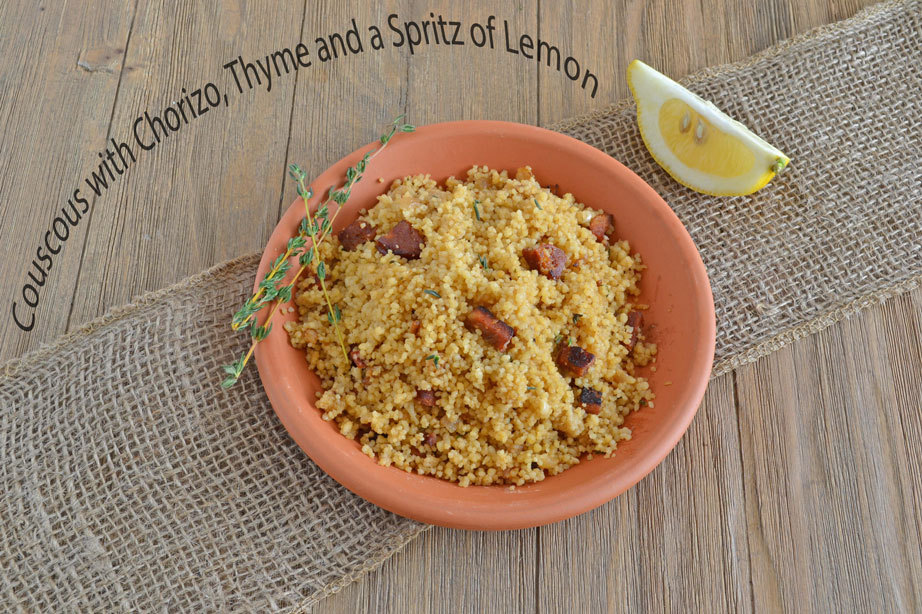 "<strong>Get the <a href=""http://www.cookthestory.com/2012/04/19/the-side-dish-solution/"" target=""_blank"">Couscous with Choriz"