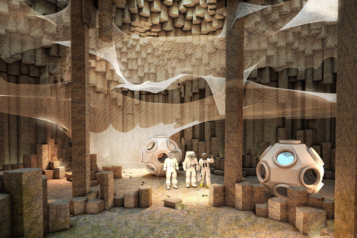 """Mars Colonization (<a href=""""http://zaarchitects.com/en"""">ZA Architects</a>)"""