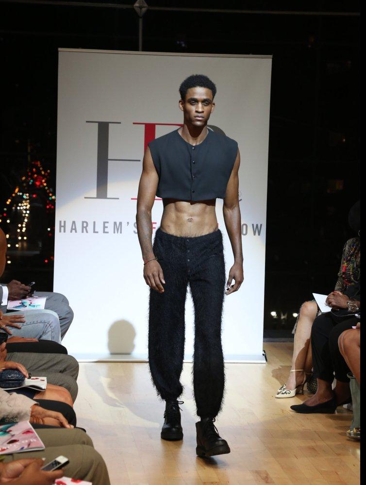Harlem's Fashion Row S/S 2014- Sandro Romans Photo Credit: Johnny Nunez