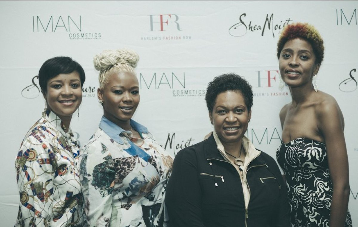 (l-r) Brandice Henderson (CEO of Harlem's Fashion Row), Claire Sulmers (Founder of Fashion Bomb Daily), Karen Chambers (Direc