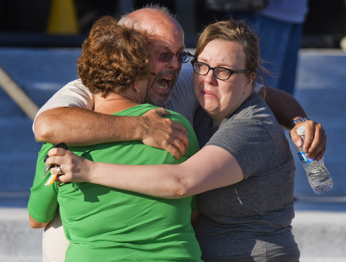 """After a gunman opened fire in a Colorado movie theater in July, <a href=""""http://www.huffingtonpost.com/2012/07/20/aurora-shoo"""