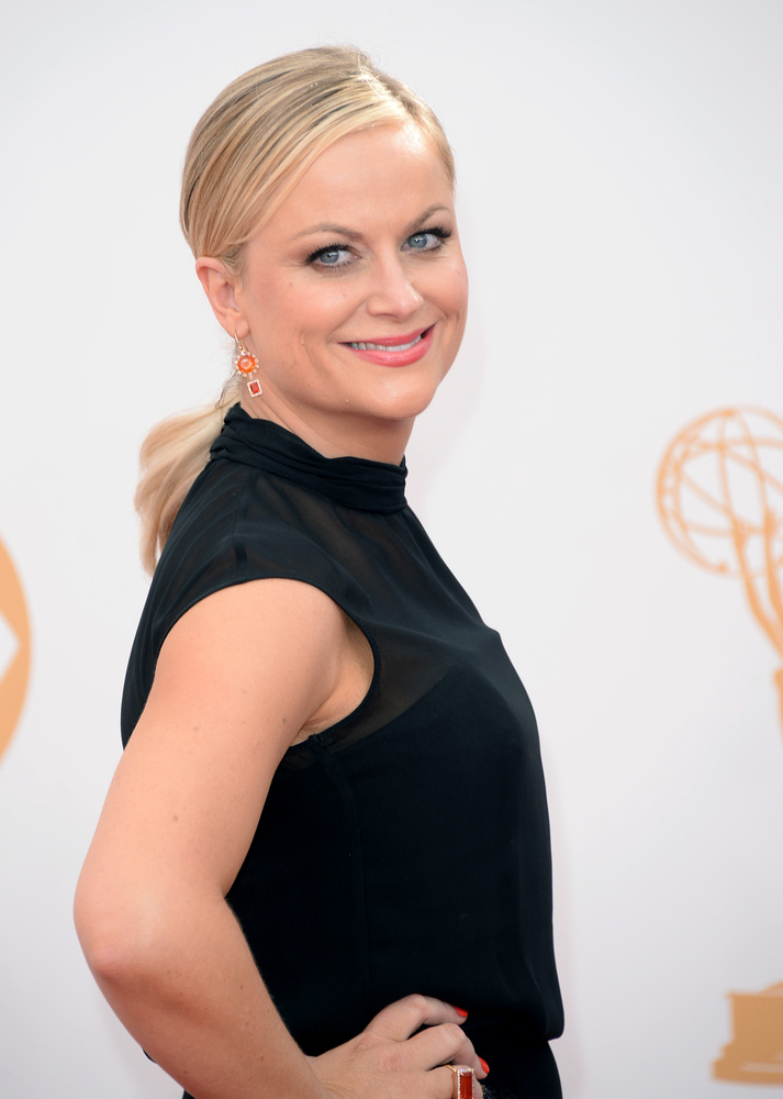 """We only talk about awards shows at other awards shows."" -- Amy Poehler about her discussions with Tina Fey for hosting Golde"