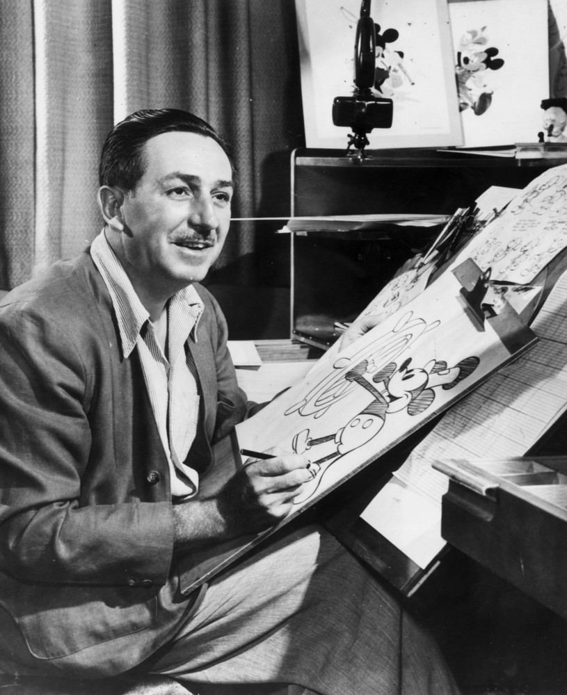 Dreams didn't always come true for Walt. The founder of The Walt Disney Company started out as a newspaper editor, but was ap