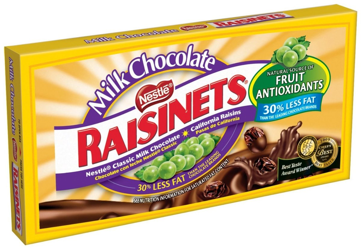Look, you're not fooling anyone. You're RAISINS.