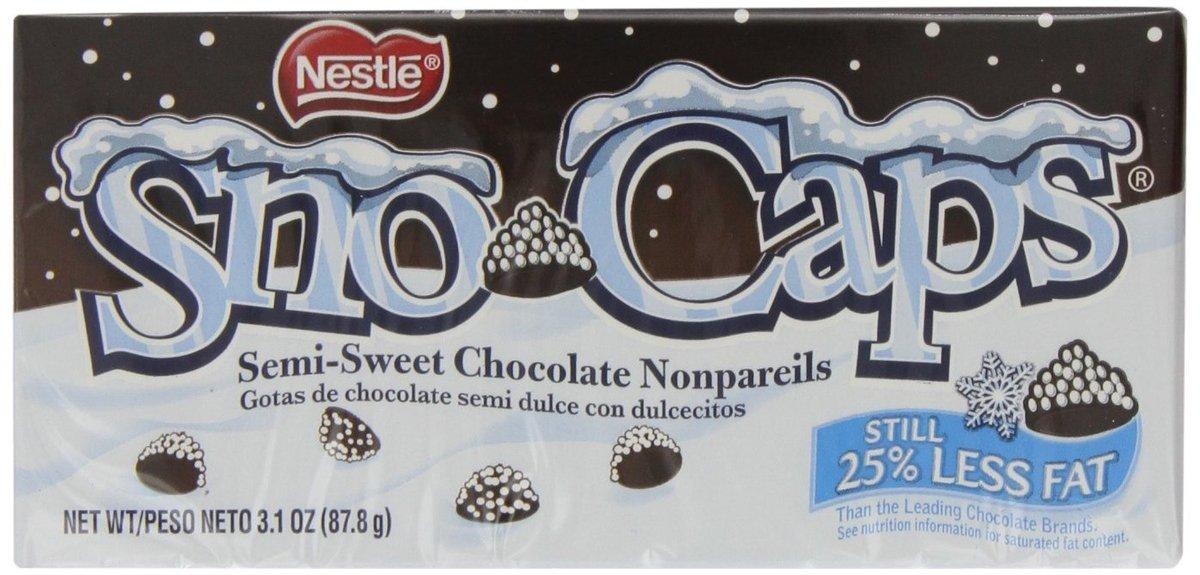 Chocolately, crunchy, tiny, perfect.