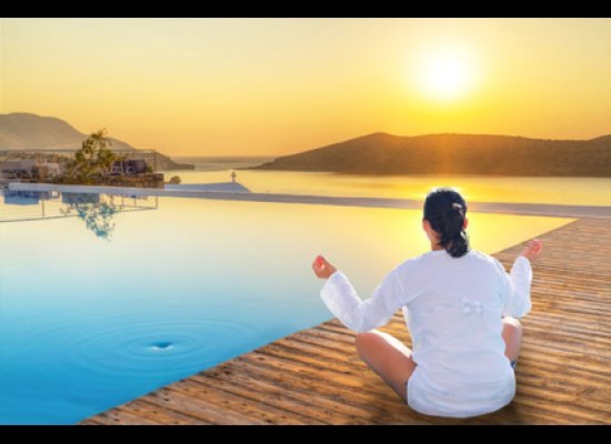 """If you commit to the daily practice of meditation, <strong>let's time-travel and take a look at """"you"""" in 90 days, with medita"""