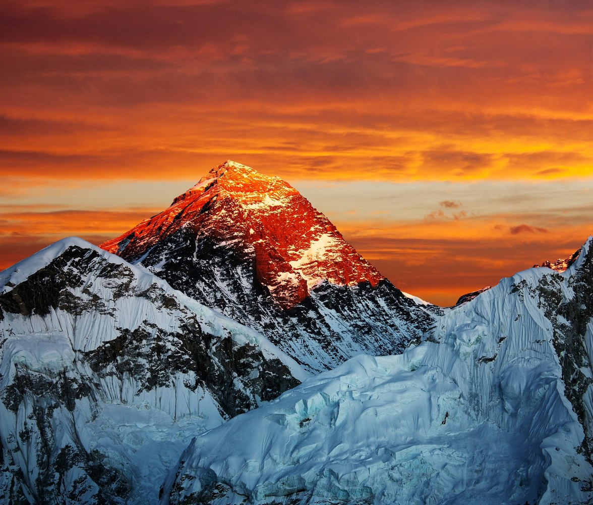 The world's highest mountain range contains the planet's largest non-polar ice mass, with over 46,000 glaciers.   The mammoth