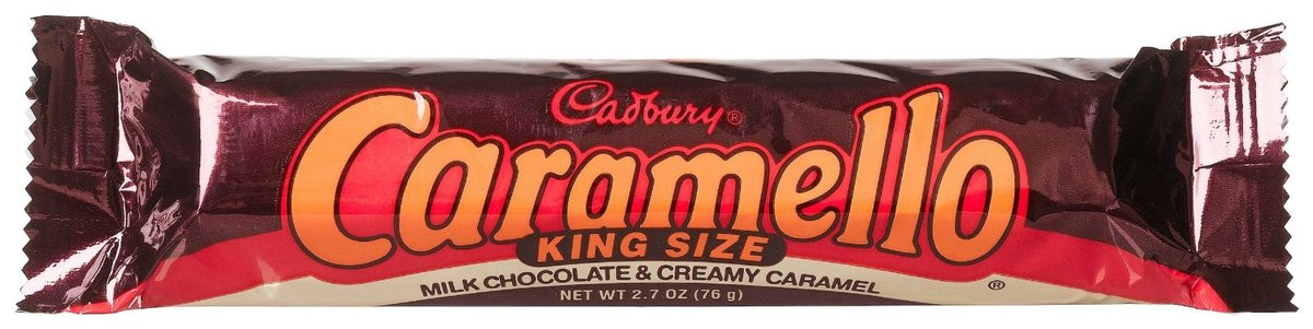 This candy bar is nothing short of a miracle. Decent chocolate, perfectly flowing caramel, always a mess, always delicious. I