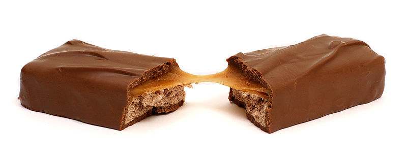 If a 3 Musketeers bar and a Caramello had a baby, it would be a Milky Way. And then we would eat that baby. Sorry. That got w