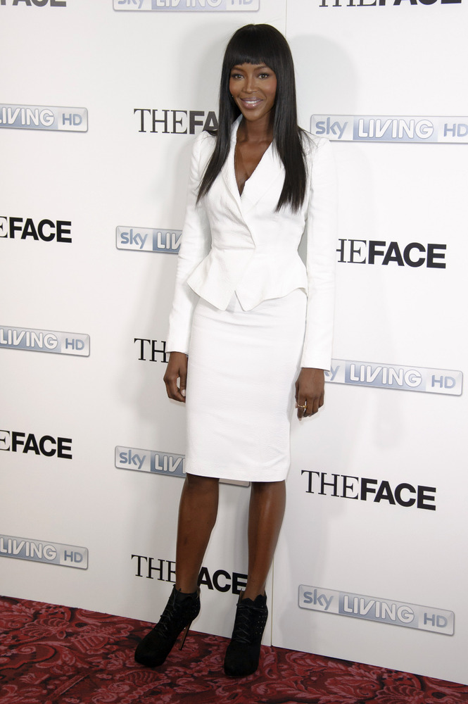 """British model Naomi Campbell attends the launch of the television programme """"The Face"""" , in London, Thursday, Sept. 26, 2013."""