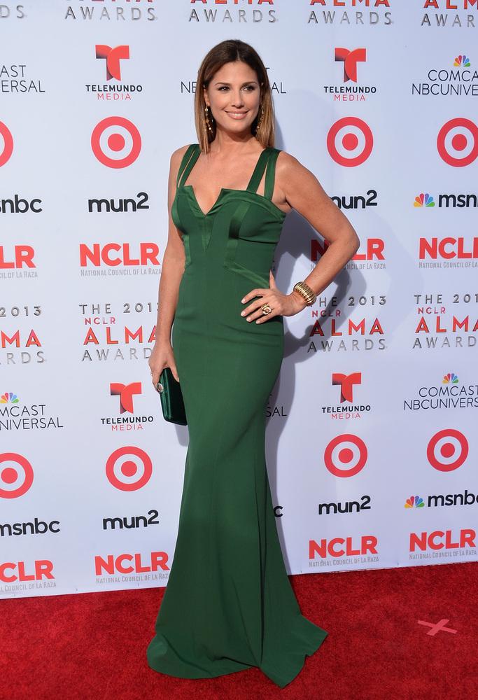 PASADENA, CA - SEPTEMBER 27:  Model/television personality Daisy Fuentes arrives at the 2013 NCLR ALMA Awards at Pasadena Civ