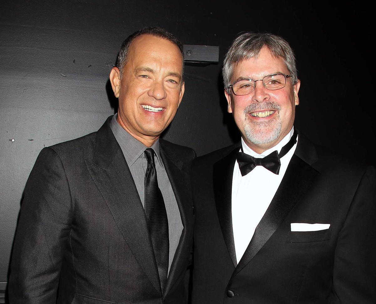 Tom Hanks and Capt. Richard Phillips