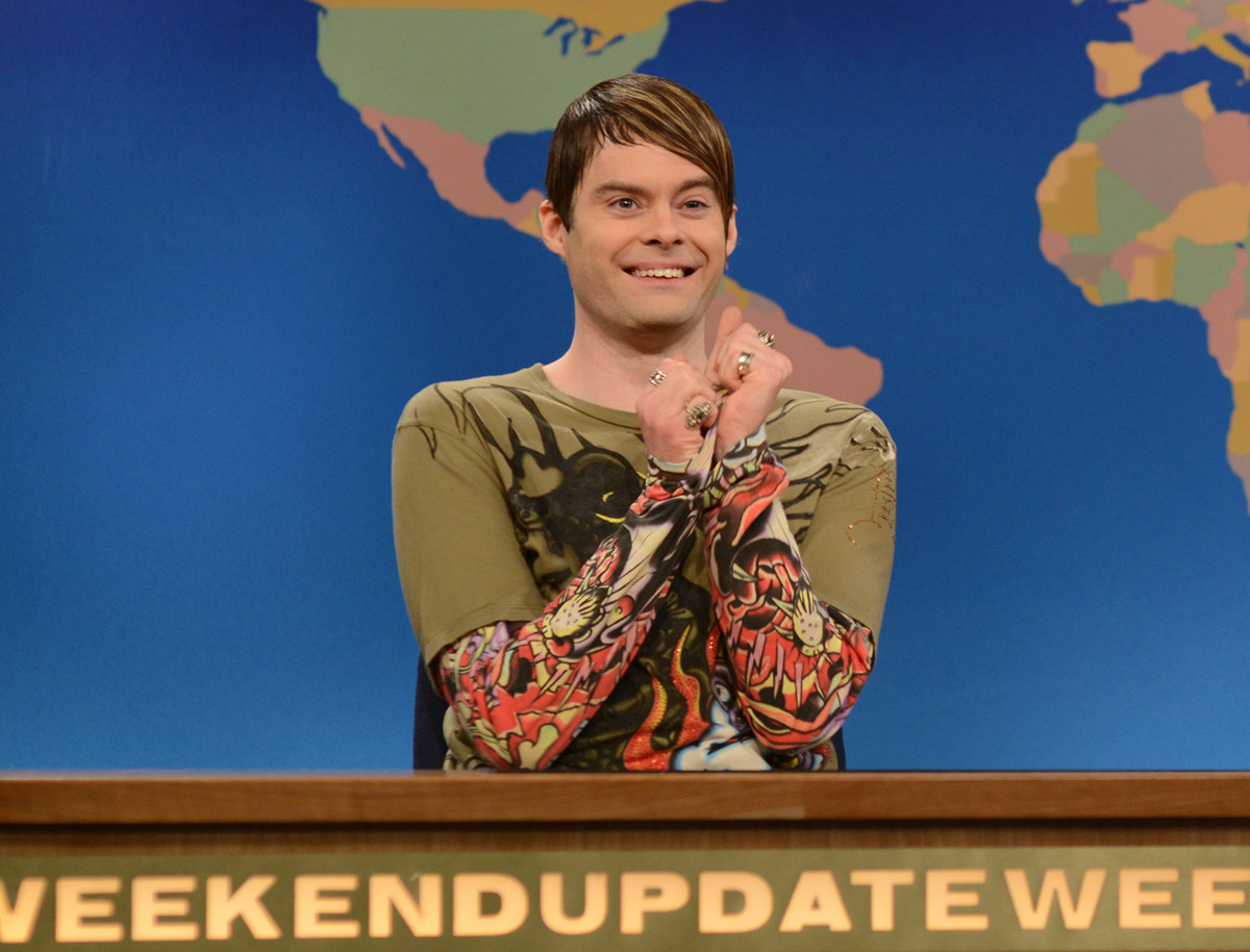 """2013 marked Bill Hader's exit from """"Saturday Night Live"""" and with him went our favorite """"Weekend Update"""" correspondent. Get t"""