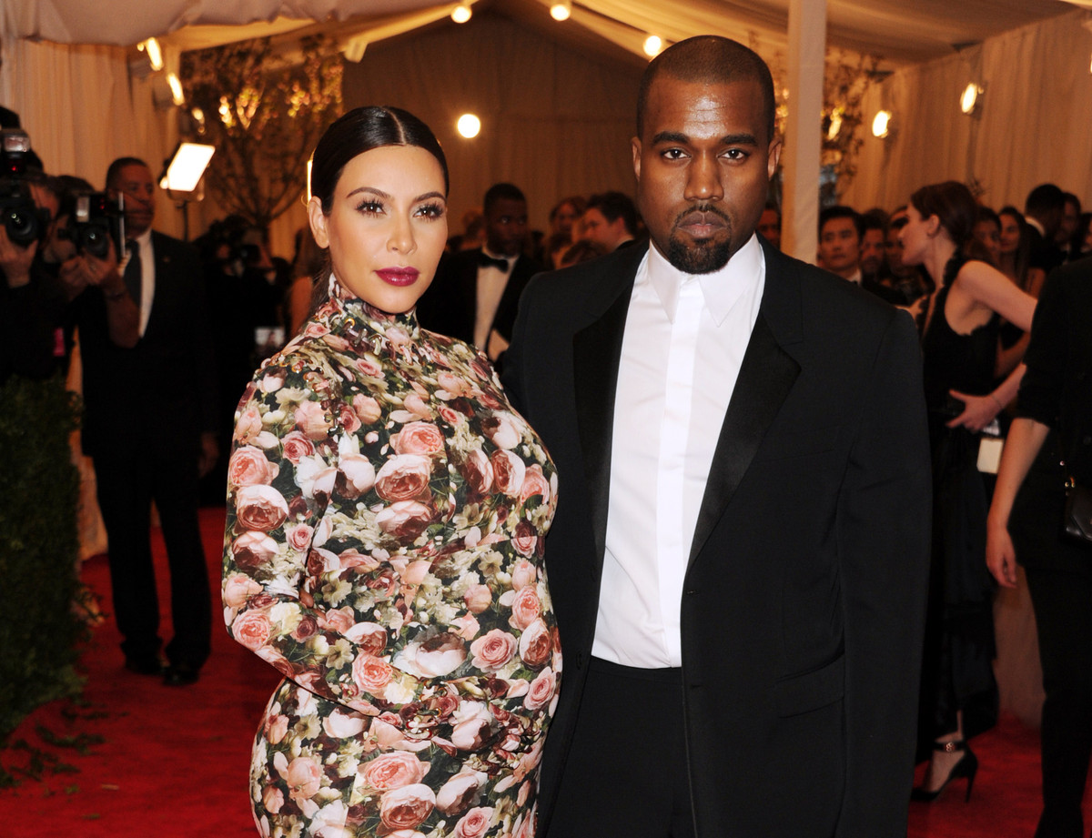 """If you can find anything that even closely resembles what Kim wore to the <a href=""""http://www.huffingtonpost.com/2013/05/08/r"""