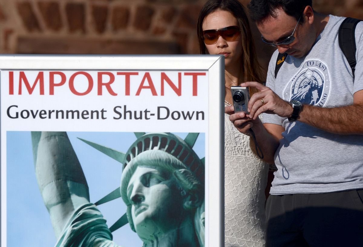 """Pick the national monument, park or facility of your choosing and throw a """"Closed"""" sign on it. On the other hand, we're hopin"""
