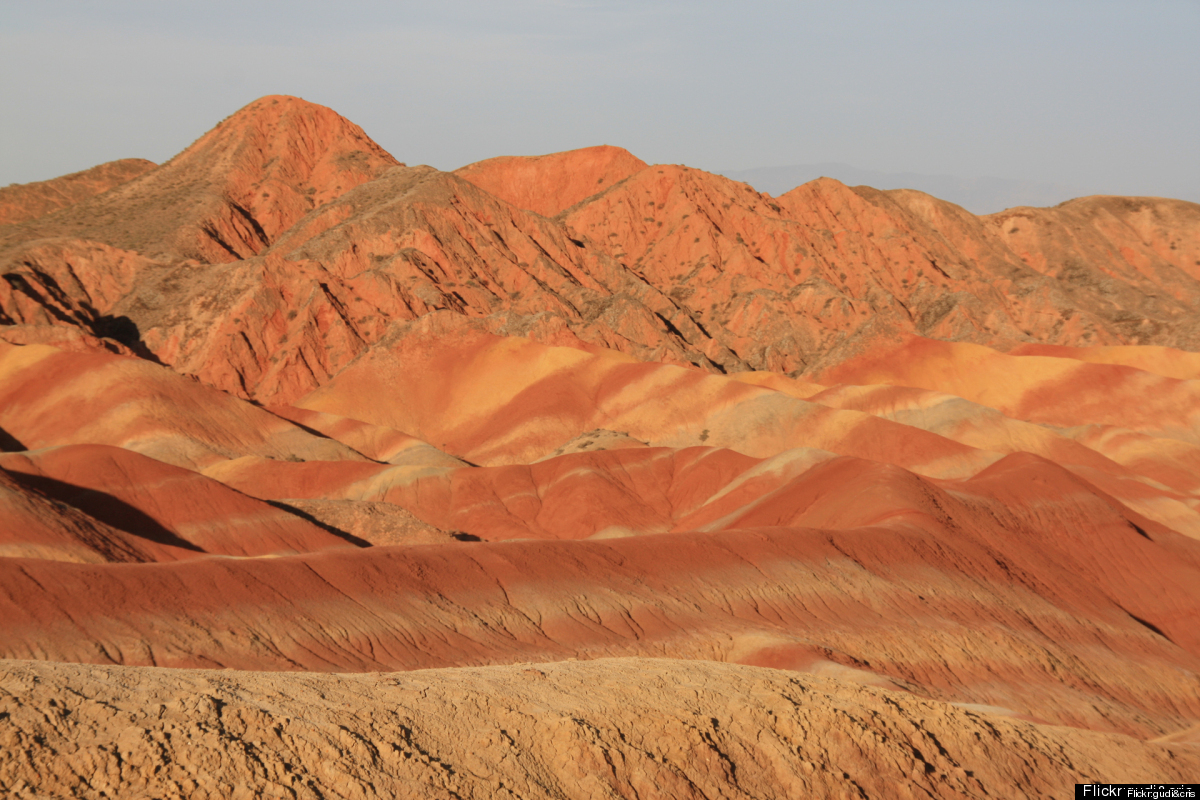 Cheapflights.com's exploration into the world of colorful natural wonders starts with Zhangye Danxia Landform Geological Park