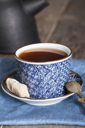 Naturally caffeine-free chicory-root tea can relax your mood and possibly your digestive tract, as well, says Beth McDonald,