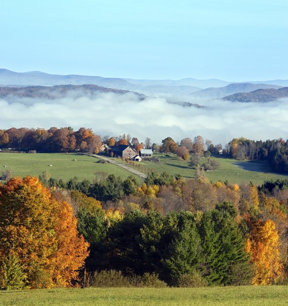 It might be called the Green Mountain State, but Vermont is decked out in red and gold come late September. For the best fall