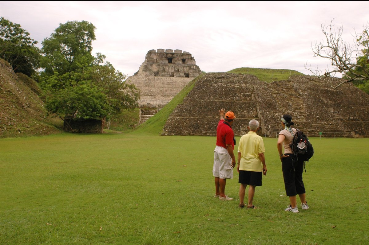 """Xunantunich in Maya means """"Stone Woman"""" or """"Maiden of the Rock"""" and is an impressive and magnificent archaeological site that"""