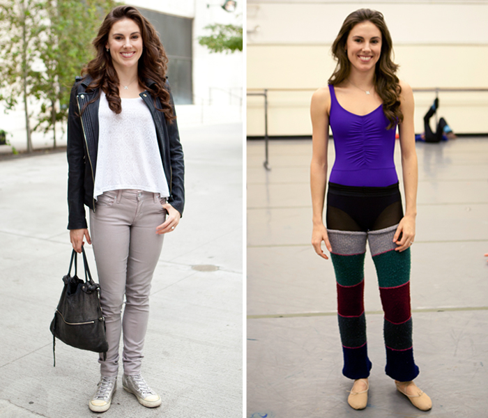 What To Wear With Ballet Shoes Socks Tights
