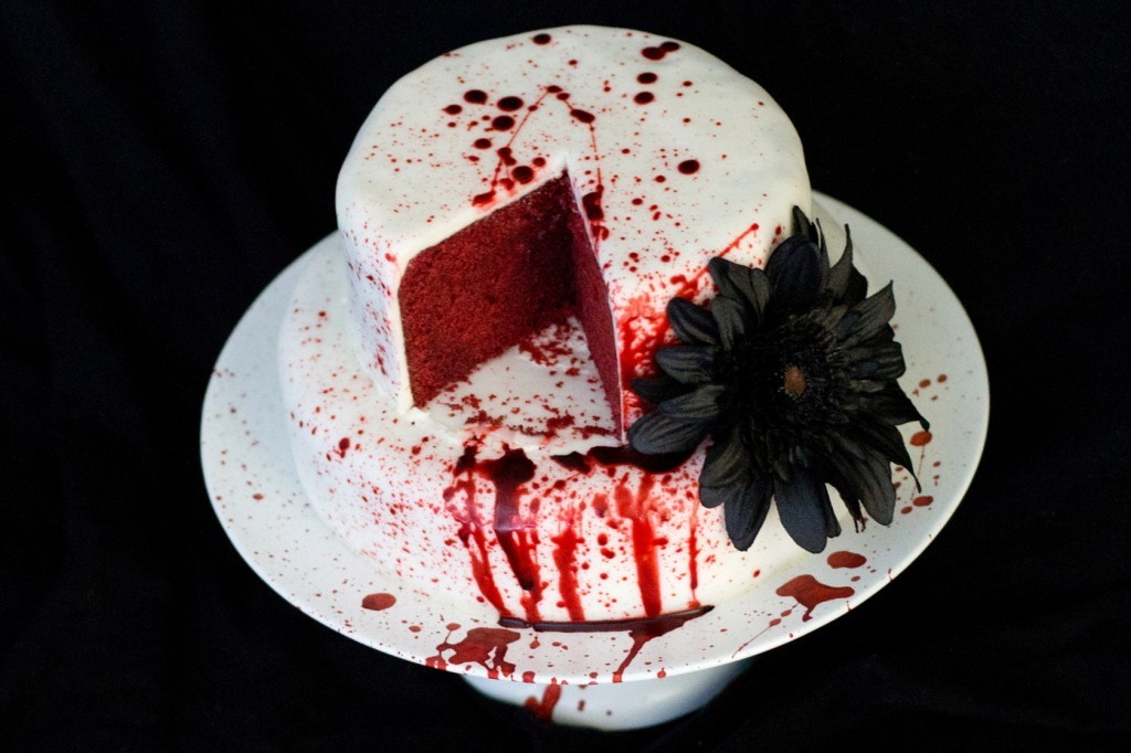 Creepy Halloween Cake Shopping List Brains Bugs Blood And Snakes