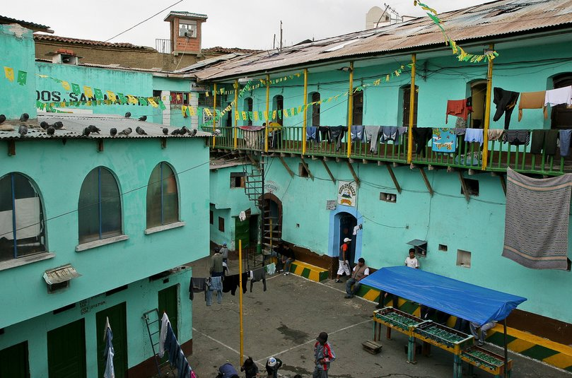 Located just outside La Paz, Bolivia, San Pedro Prison may be one of South America's most notorious and unique penitentiaries