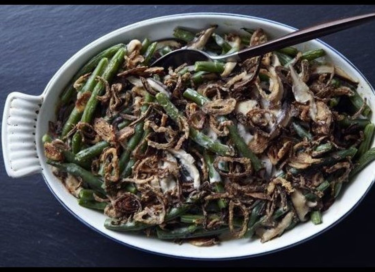 "<em><strong><a href=""http://food52.com/recipes/7875-homemade-green-bean-casserole"" target=""_hplink"">Get the recipe on Food52<"