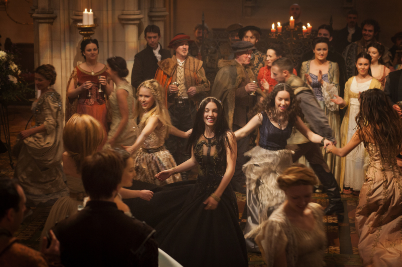 "The women and men of ""Reign"" engage in a bit of light-hearted frivolity."